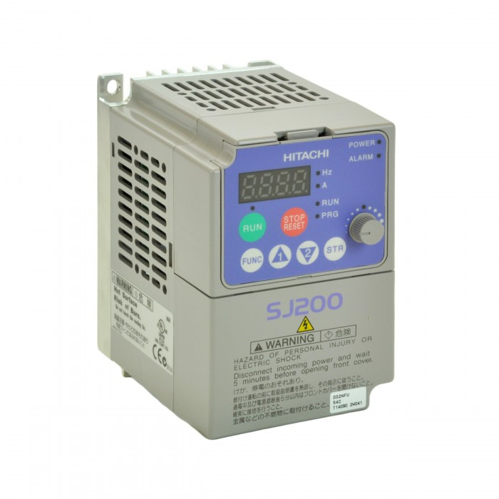 7 5hp 460v hitachi vfd inverter ac drive sj200 055hfu for Vfd for 5hp motor