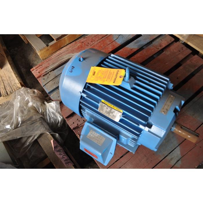 15 hp 1200 rpm 230 460 v baldor surplus electric motor for Baldor 15 hp motor