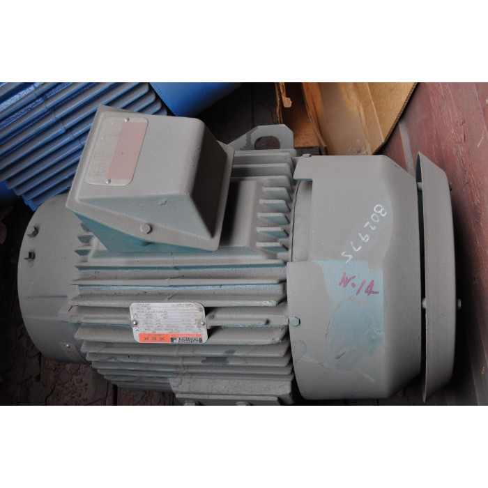 20 Hp 1200 Rpm 230 460 V Reliance Surplus Electric Motor