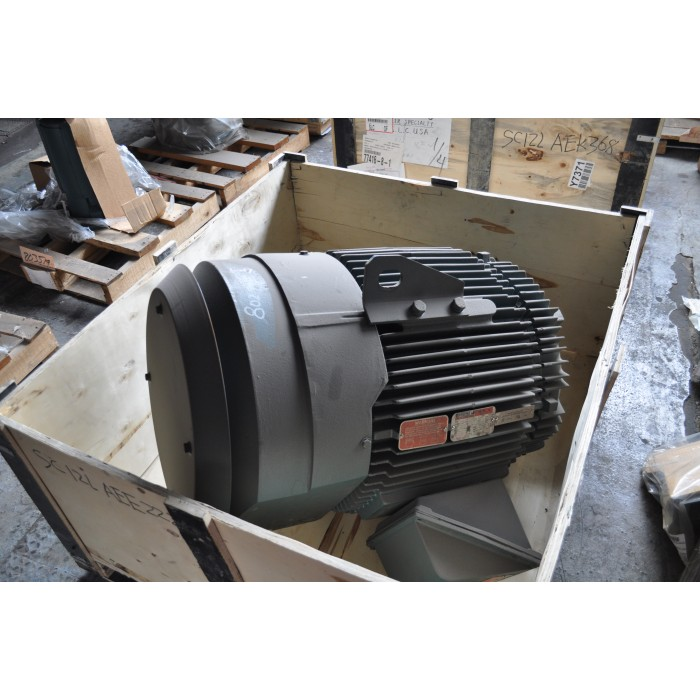 75 Hp 1200 Rpm 230 460 V Reliance Surplus Electric Motor