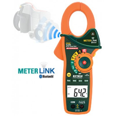 1000A AC/DC True RMS Clamp/DMM with IR Thermometer and Bluetooth