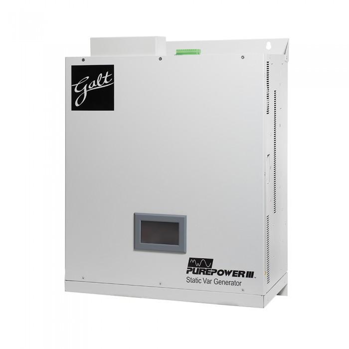 Galt Electric, Power Factor Correction, Static Var Generator, PurePower  SVG, 50kVAR, 460V, Rack Mount, GSVG050480ULR30