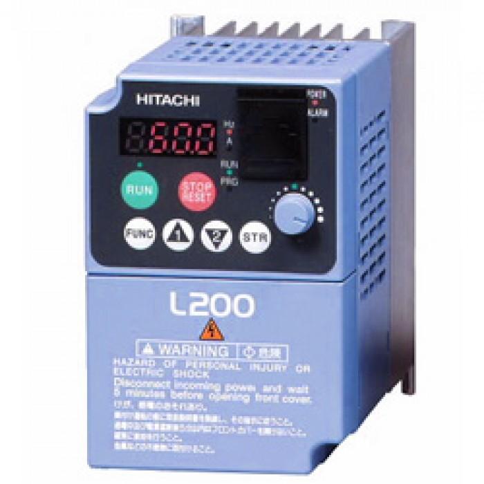 10hp 230v hitachi vfd inverter ac drive l200 075lfu rh vfds com Hitachi TV Service Manual Troubleshoot Hitachi Projection TV