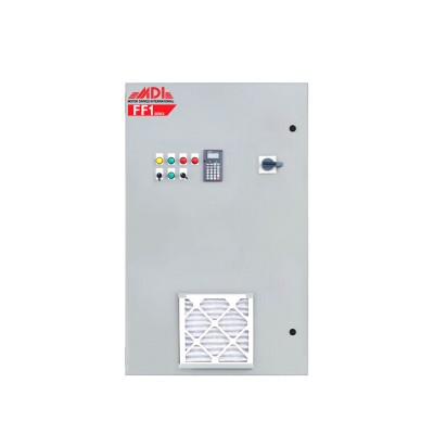 50HP 460V MDI Industrial Control Panel, Motor Control Panel, VFD Box, MFF14050HA1540