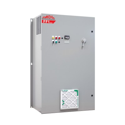 250HP 460V MDI Industrial Control Panel, Motor Control Panel, VFD Box, MFF14250HA1540