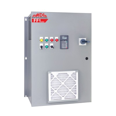 10HP 460V MDI Industrial Control Panel, Motor Control Panel, VFD Box, MFF14010HA1540
