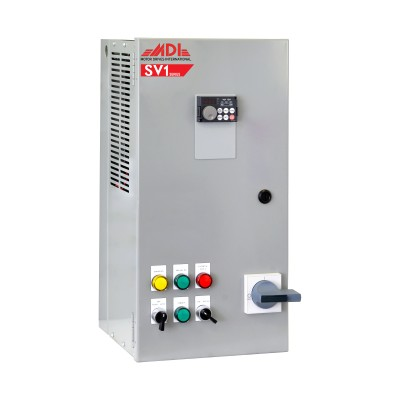 5HP 208V MDI Industrial Control Panel, Motor Control Panel, VFD Box, MSV12005HA1130