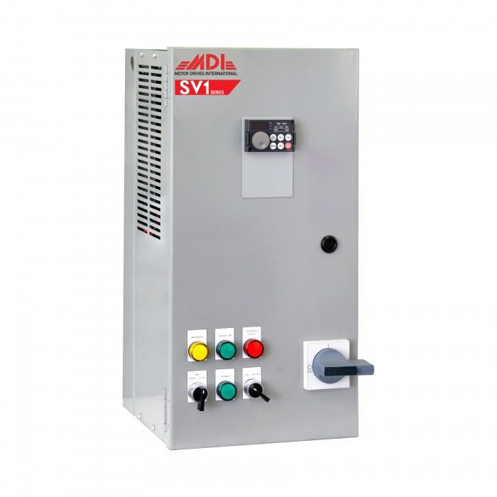 3HP 460V MDI Industrial Control Panel, Motor Control Panel, VFD Box,  MSV14003HA1130