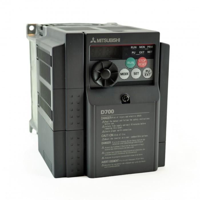 3hp 230v mitsubishi vfd inverter ac drive fr d720s 100 na for Single phase motor vfd