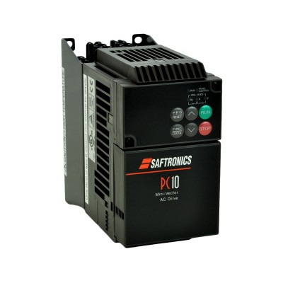 7.5HP 230V Saftronics VFD, Inverter, AC Drive PC102007-9