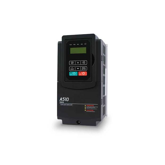 3HP 230V Teco A510 VFD, Inverter, AC Drive A510-2003-C-U