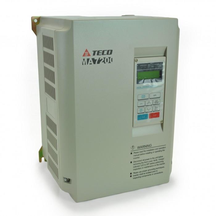 15hp 230v Teco Vfd  Inverter  Ac Drive Ma72002015n1