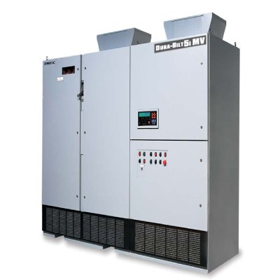 1390HP 3300V TMEIC Dura-Bilt5i MV Medium Voltage VFD, Inverter, AC Drive