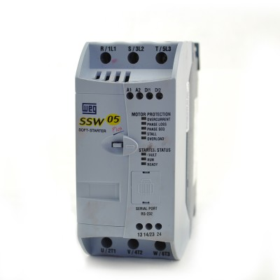 5HP at 460V, 3HP at 230V, WEG Soft Starter, SSW050010T2246EPZ