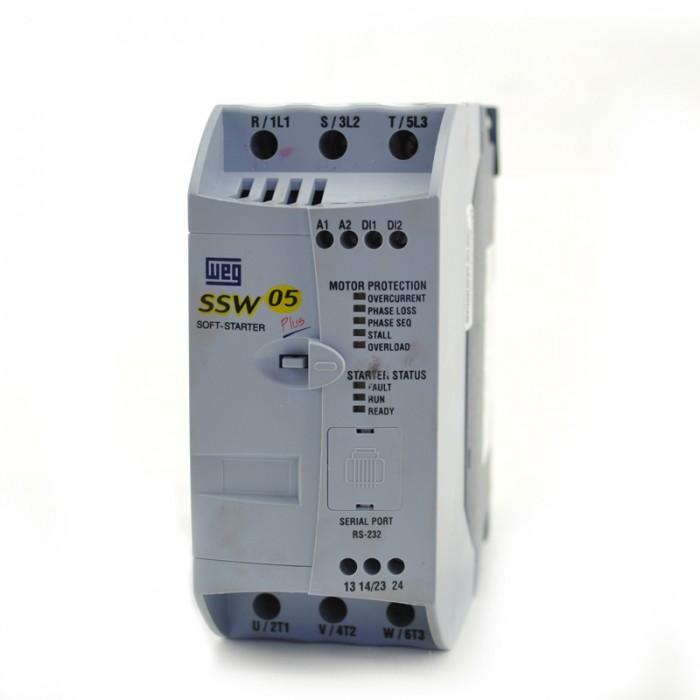 5HP at 460V, 3HP at 230V, WEG Soft Starter, SSW050010T2246EPZ Vfd Vs Rvss Schematic Diagram on