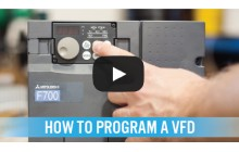 How to Perform Basic VFD Programming (Video)