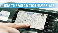 How to Read a Motor Nameplate