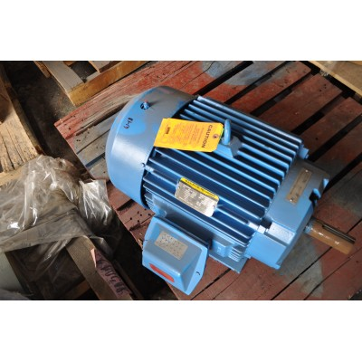 15 HP, 1200 RPM, 230/460 V, Baldor Surplus Electric Motor
