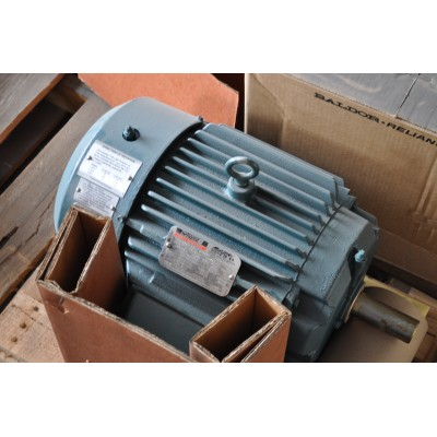 10 HP, 1800 RPM, 460 V, Baldor Surplus Electric Motor