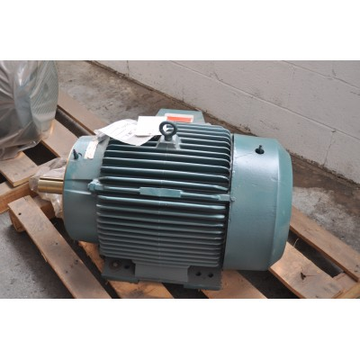 25 HP, 1200 RPM, 230/460 V, Reliance Surplus Electric Motor