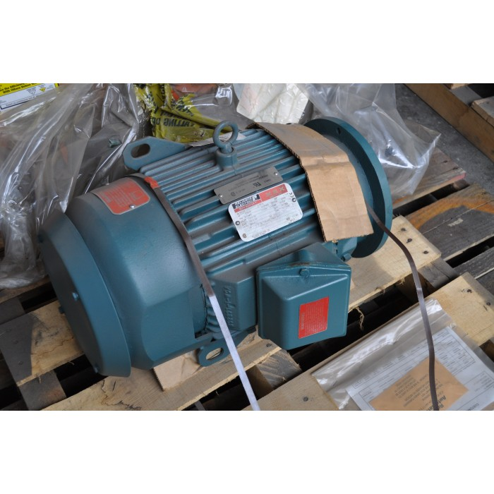 2 Hp 900 Rpm 460 V Reliance Surplus Electric Motor