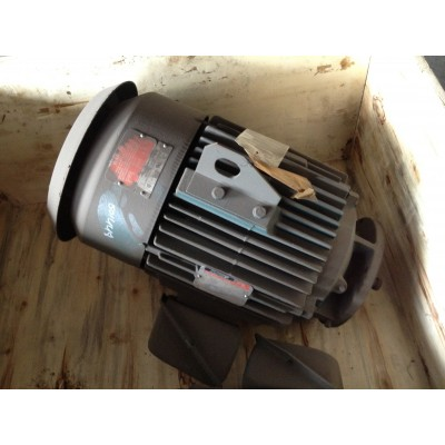 15 HP, 1200 RPM, 230/460 V, Reliance Surplus Electric Motor